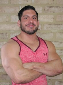 Jorge Grimaldo - Jorge brings a host of experience from both River Oaks Fitness and Evolve. He works diligently with clients focusing on getting into shape or back into shape. His techniques for building muscle and losing fat will have you feeling and looking your best in no time!grimaldo902@yahoo.com