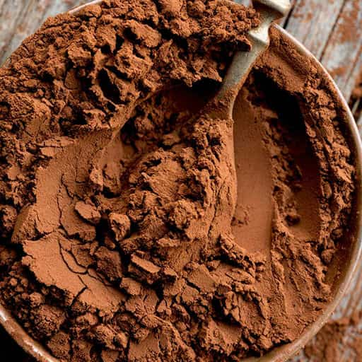 cocoa bean and powder