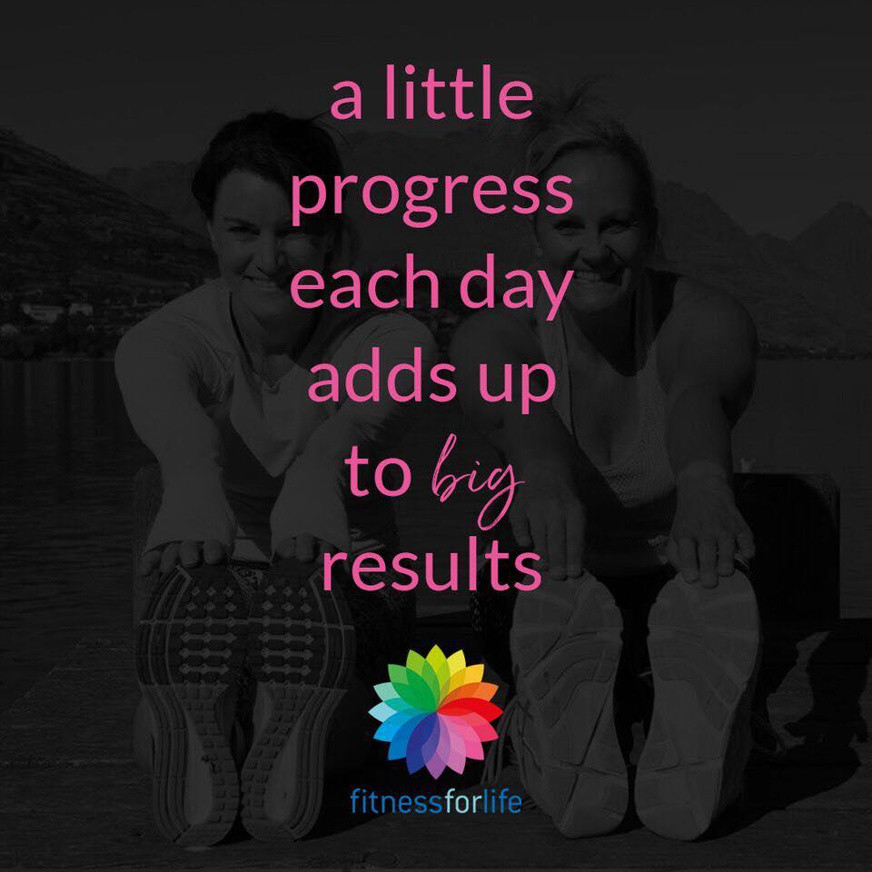 A little progress = big results