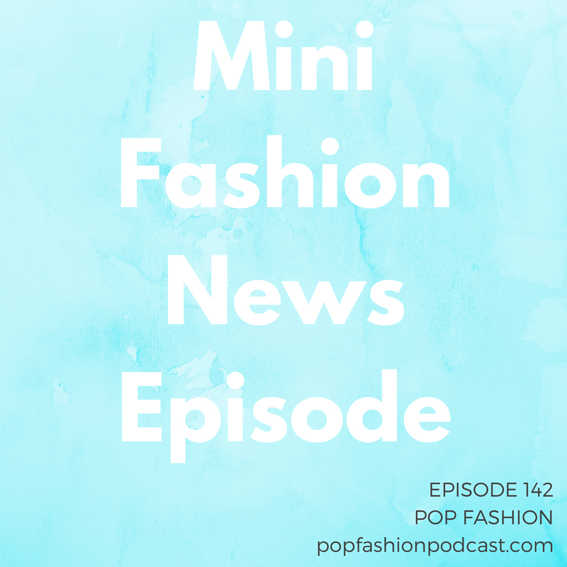 "Episode 142: Mini Fashion News Episode    Welcome to another episode of Pop Fashion! This one's a little different – our recording got screwed up by the super moon and various technical difficulties, so for the first time in 142 weeks we had to scrap an episode.   We feel awful. But we couldn't just SKIP a week with all of you. Gosh.  So, here are the topics we discussed in mini episode 142:   Nasty Gal filed for bankruptcy : After years of fast growth followed by a lot of rumors about employee happiness and how well the business was really doing, Nasty Gal has filed for chapter 11 protection. One of the major expenses cited in the filing was ""high occupancy costs,"" indicating that keeping two California brick-and-mortar stores open might be costing more than originally anticipated.   American Apparel filed for bankruptcy…again : American Apparel says it will operate as usual in the United States, but the brand is still looking for a buyer to take over this, frankly, complete shitshow. Who wants to buy a company that's filed chapter 11 twice? Meanwhile, Gildan Activewear has purchased intellectual property rights and ""certain assets"" from AA for $66 million cash. Because I guess Gildan is still working on that t-shirt pattern it's been slamming out for decades? #confused   Trump product boycott : Welcome to our post-election world, where people are boycotting stores that sell any Ivanka Trump or Donald Trump brands. That means  major department stores and gigantic online retailers  like Amazon could take a hit. Voting with your dollars isn't a new concept, but could 2016 shoppers make an impact? You decide!  And a note about politics… we haven't discussed the 2016 campaigns much on our show. This was a conscious decision once we realized after a while we tended to steer away from U.S. politics. (Let's be honest, we considered our show a place of respite from the nonstop news cycle.) But now that the election is over. we know that it's impossible to completely separate the business and ethics of fashion from the new administration. So we'll be tiptoeing into this territory with caution as situations arise.  ANYWAY  In Actual Fashion News,  Stella McCartney  has released her first menswear collection. After an awesome collaboration with Adidas, the brand is prepping to release this funky and fun menswear set next year. We're excited to see how dudes pick up on Stella's aesthetic.  And there were a few topics we didn't get to in the second recording of this week's show, but still wanted to share with you:   Waterless razor : Say hello to the Venus waterless shaver. It's got lotion in the handle, and it's meant to be disposable.  We are intrigued, and Lisa thinks this razor should be stocked in the birth control aisle at drugstores. You know, for all those times you go on a date and you say ""I'm not going to shave my legs so it doesn't get sexy"" and then you're like ""oh damn I really should have shaved my legs.""   Zara's rat dress : So allegeeeeedlyyyyy a woman found a rat sewn into the hem of her Zara dress. We've looked at the black-and-white photos (first of all, why are the photos only black and white?), and have come to the following expert conclusions: 1) that's nasty. 2) it's hard to tell what was actually in that dress but it was something nasty 3) yeah we would sue too   Welspun is in more trouble : You might remember the story of Welspun ""Egyptian cotton"" sheets sold at Target. Now Bed Bath & Beyond has joined the list of stores that no longer sell Welspun products because an independent audit couldn't confirm the origins of Welspun's supplies. BB&B is offering returns to dissatisfied customers. Walmart has also stopped selling Welspun sheets."