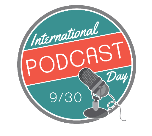 It's International #PodcastDay. How does one celebrate such a joyous day? So glad you asked.    Listen.  Download.  Subscribe.  Rate (4 stars and up please)  Review.  Share with friends, always.  Share with enemies, sometimes.  Thank your favorite podcasts for showing up every week/two weeks/whenever.   Enjoy.
