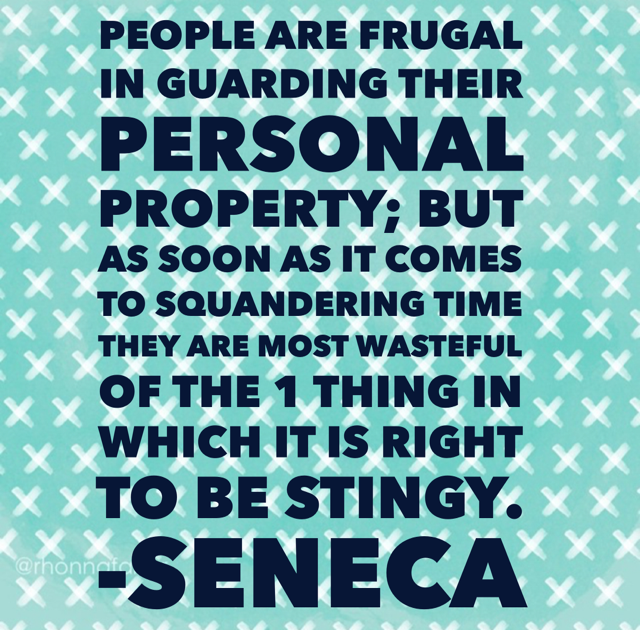 Seneca breaking it down