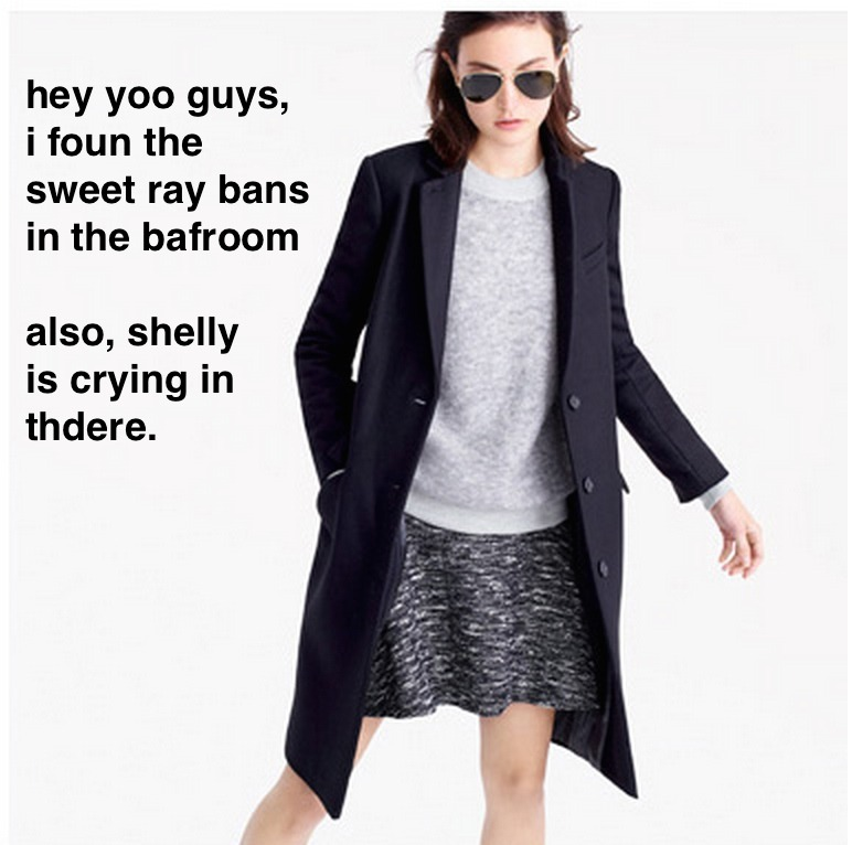 drunkjcrew :     #drunkjcrew     Love this shiz. -L