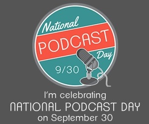 We are absolutely celebrating #podcastday. Tell us: what are your favorite podcasts? Shout 'em out!!!