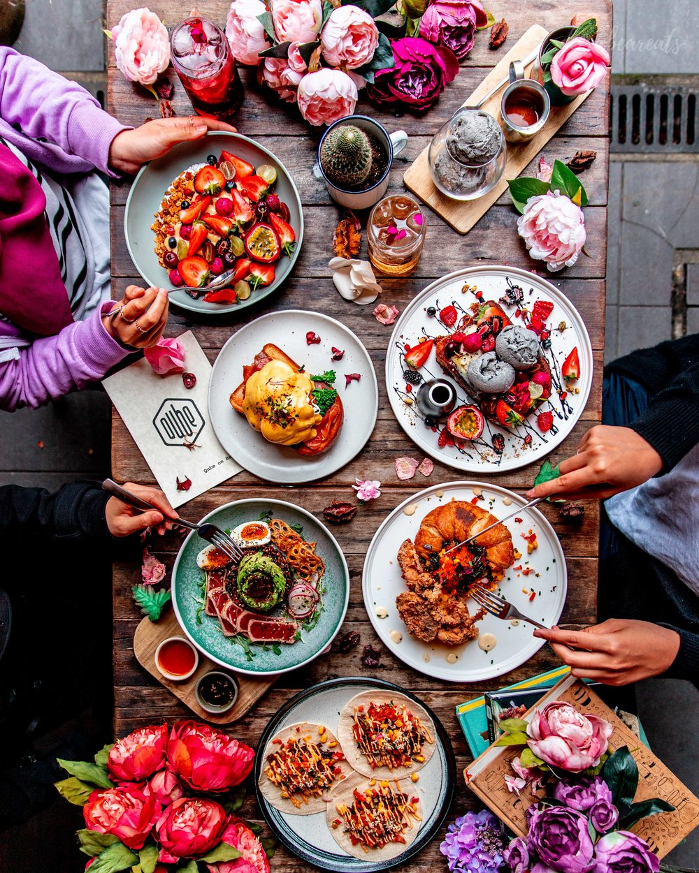 PROFESSIONAL PHOTOS - Including a beautiful flatlay* showcasing your best food for your page.
