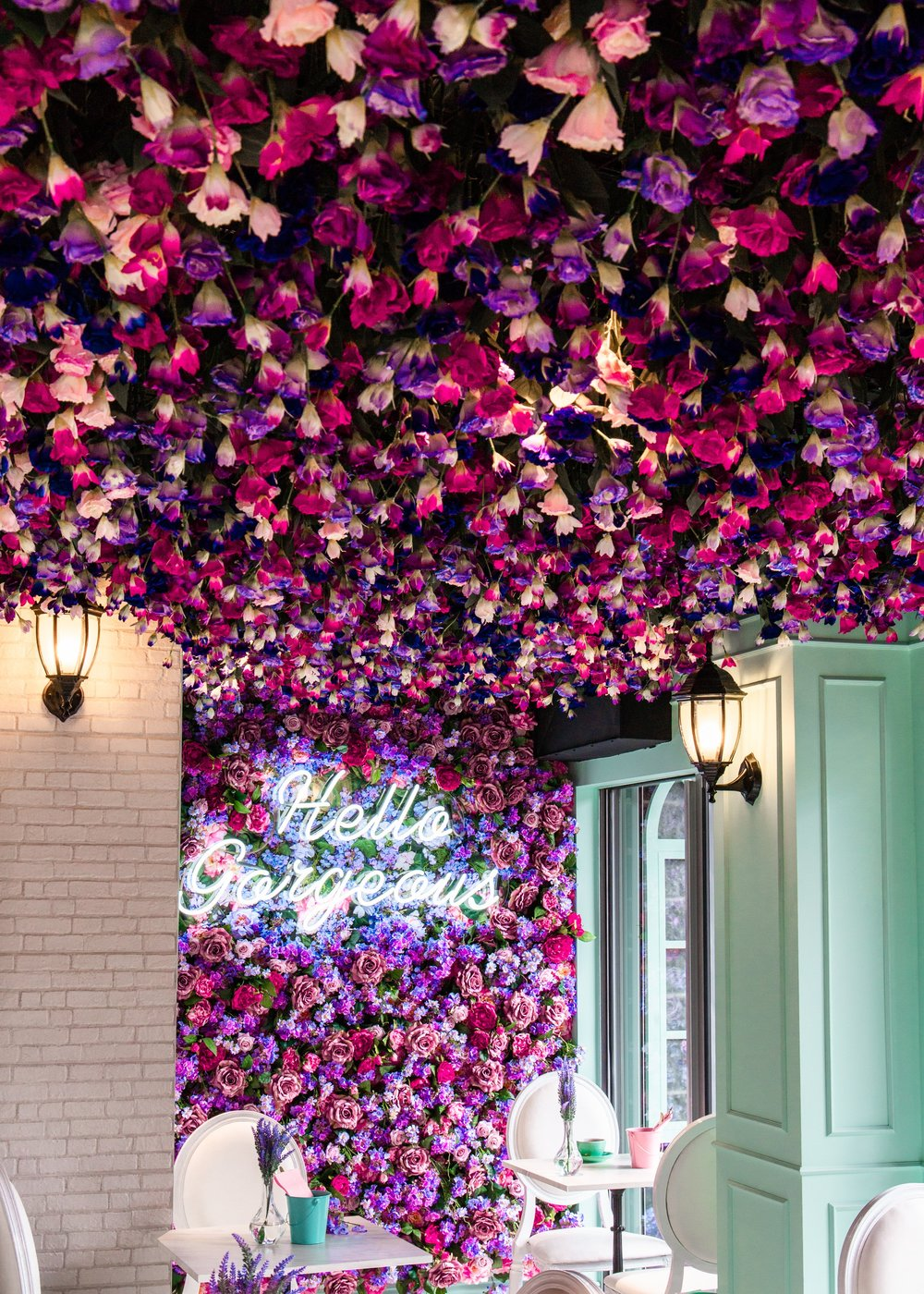 15,000 Flowers at Social Hideout Waterloo.