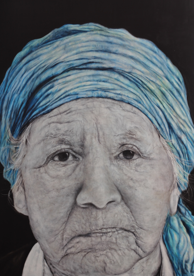 """Old Woman from Buenos Aires"""
