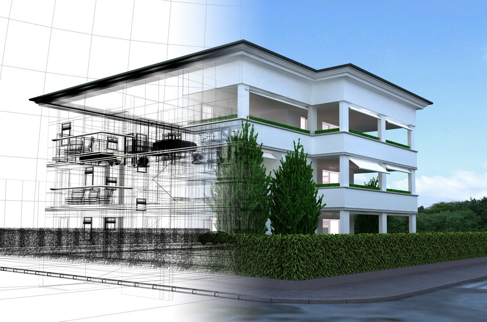 Visualization - ARCHICAD provides out-of-the-box photo realistic renderings and even virtual reality.