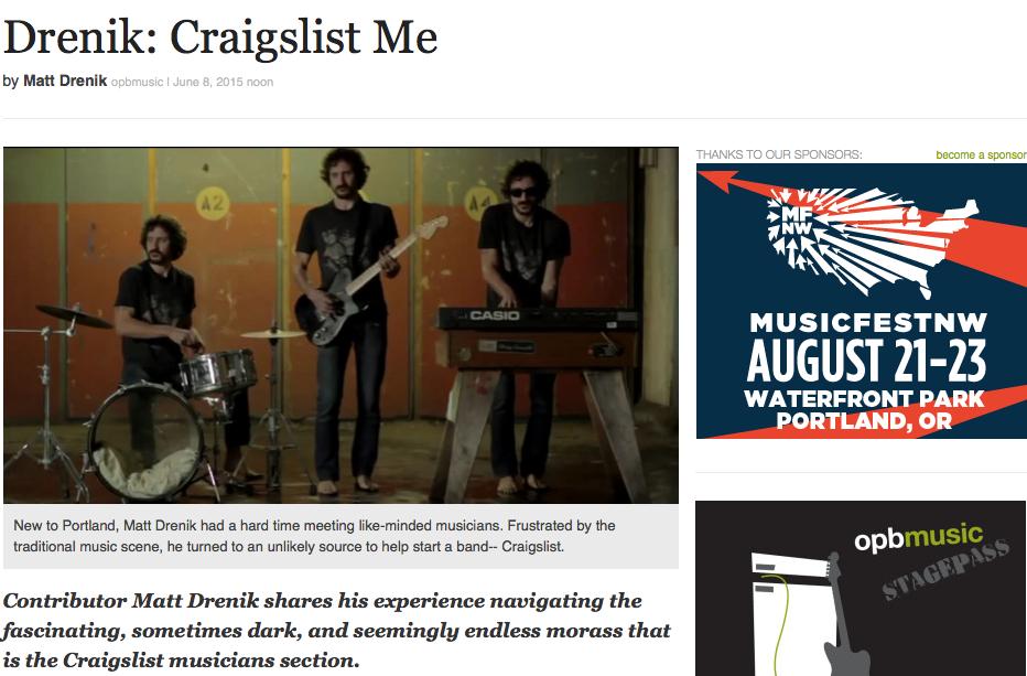 Craigslist Me