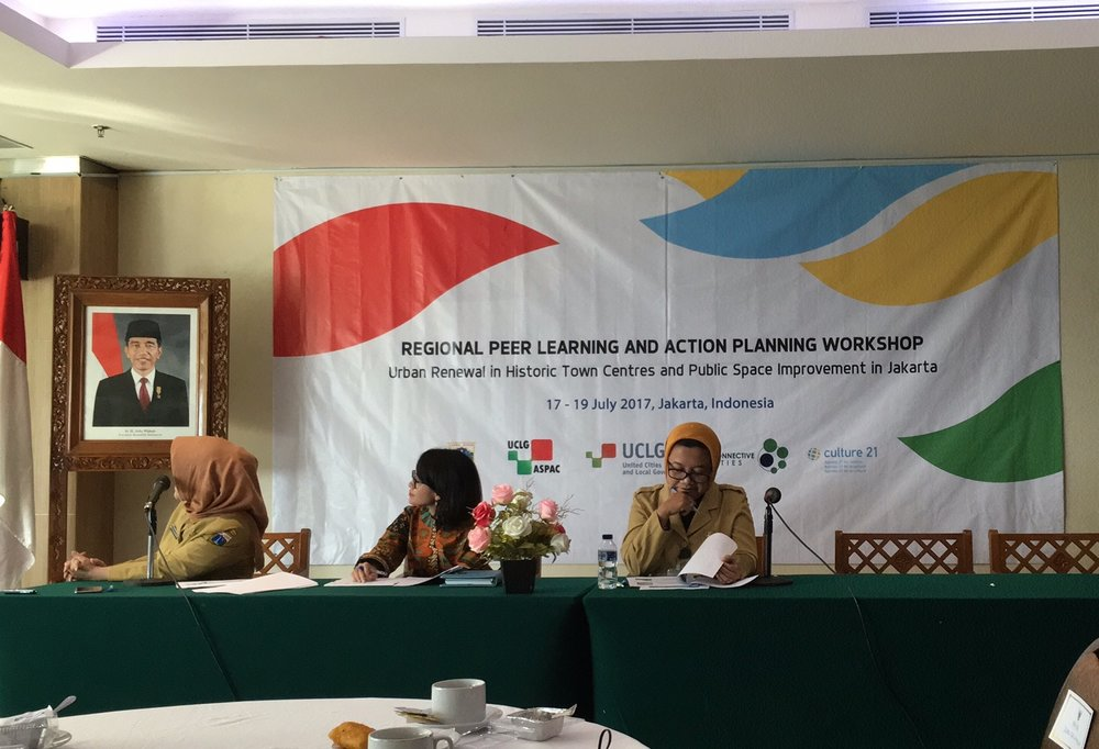 UCLG X Jakarta Government Conference on Kota Tua