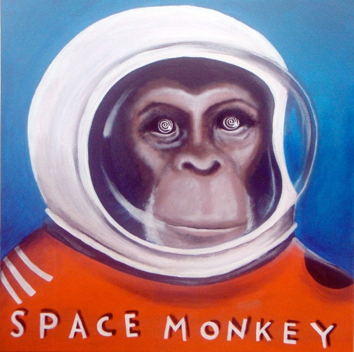 Copy of space monkey