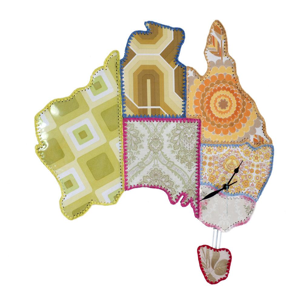 Australiana Clock
