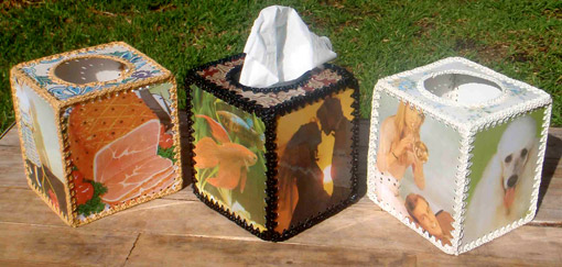 decorative tissue box covers