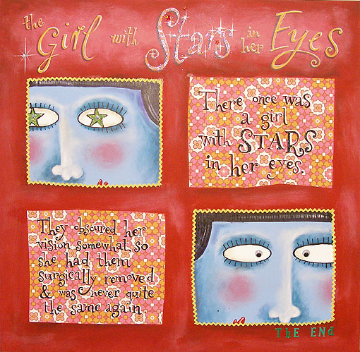 Copy of the Girl with Stars in her Eyes