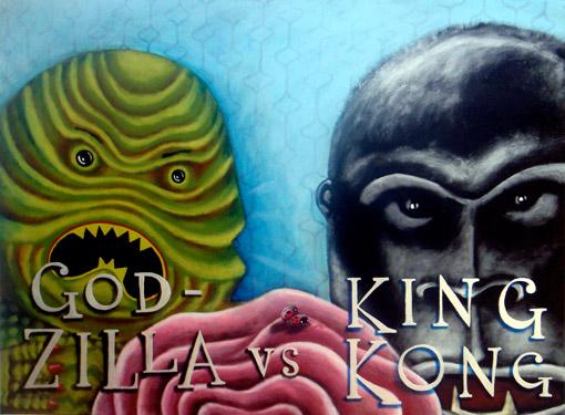 King Kong & Godzilla.....