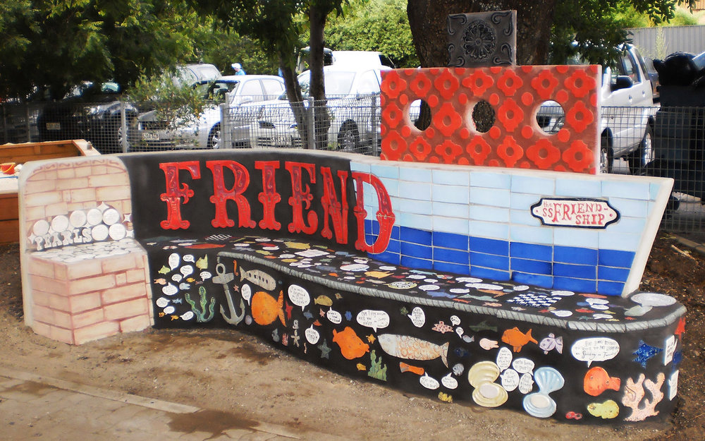 the Friend-ship bench