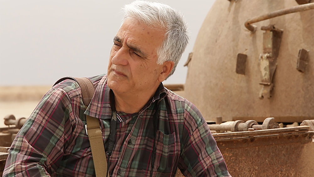 The films main character Saeid Sadeghi.