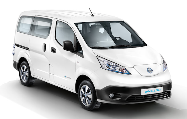 Nissan eNV200 15- - The Nissan e-NV200 in the biggest selling pure electric van in the world. Based on the Nissan LEAF the reliability, charging options and drive are secound to none. Configurations are 2, 5 and 7 seats.
