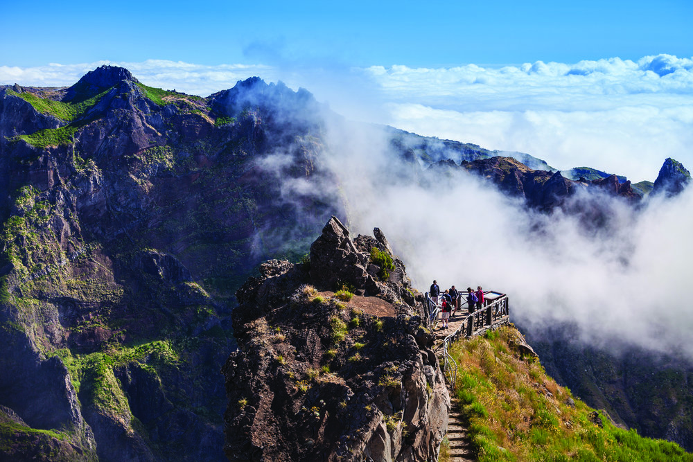 Madeira - Famed for its levadas and flowers, it is an excellent walking destination with an equable year round climate.
