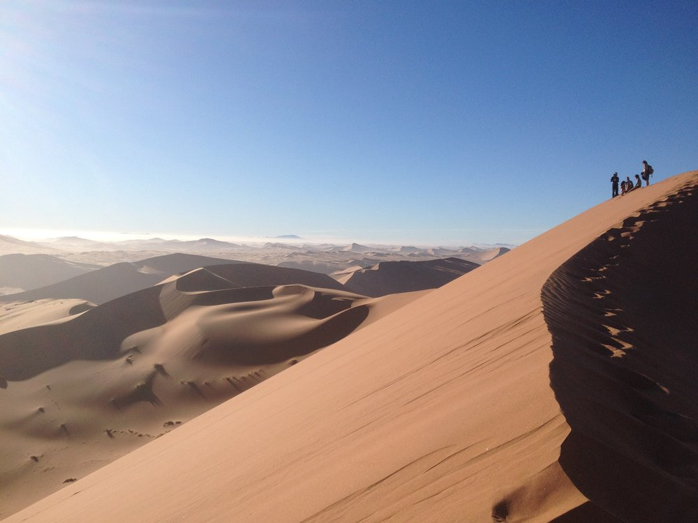 Namibia - Travelling across the scenic landscapes of north Namibia