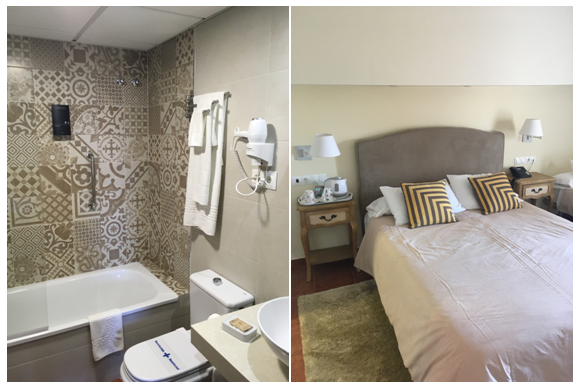Example of refurbished superior rooms. All Superior rooms have slightly different décor and can be booked for a small supplement .
