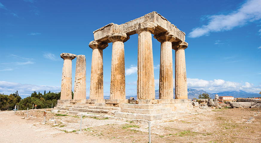 Greek Peloponnese -