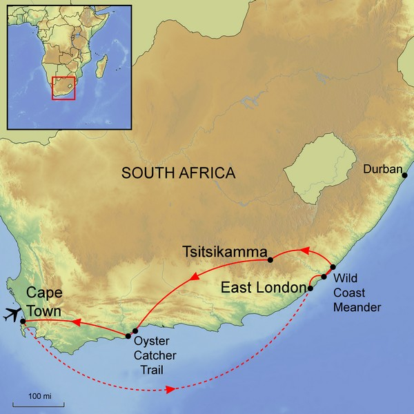 Walking the Wild Coasts of South Africa    14 September 2018 - 30 September 2018