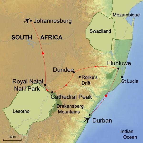 KwaZulu Natal     30 October 2018 - 17 November 2018