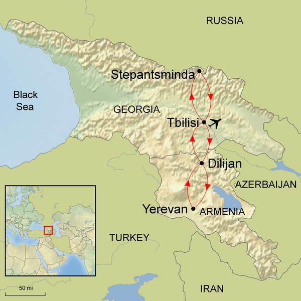 Georgia & Armenia     15 September 2018 - 28 September 2018