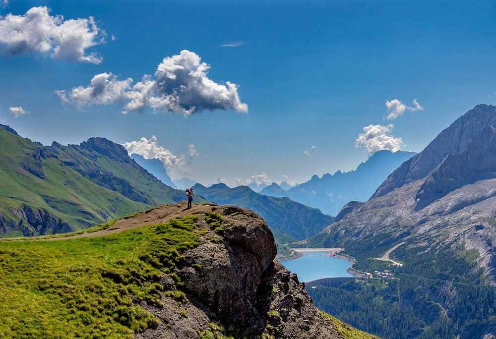 In the Heart of the Dolomites -