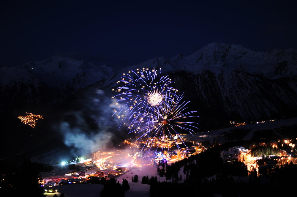 Courchevel - The International Festival of Pyrotechnic Art February