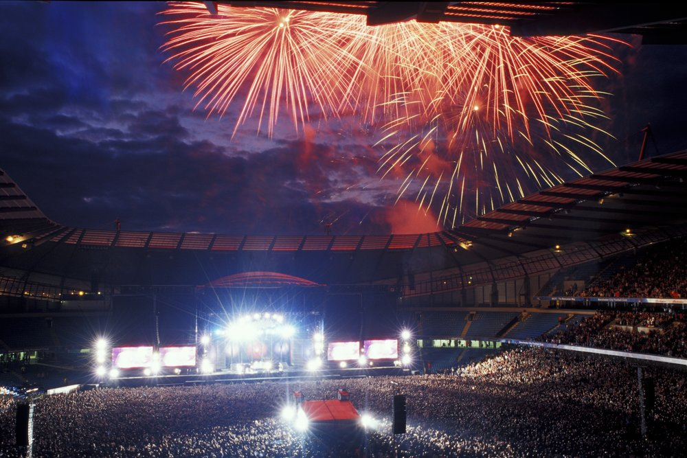 Red hot chili peppers - Etihad Stadium