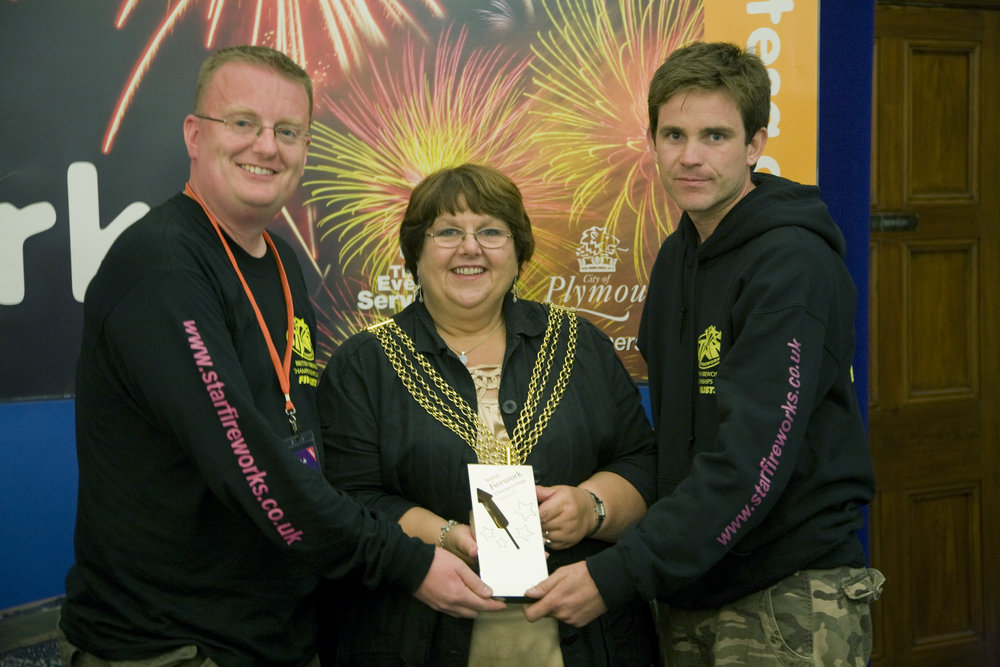 Sean and Andy, Star Fireworks directors except the 2010 British Firework Championship title.