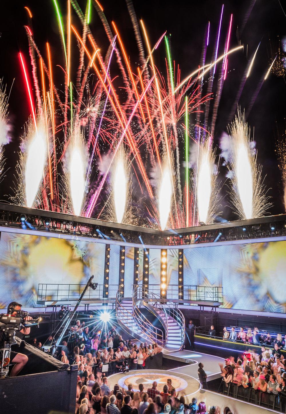 Fireworks For Big Brother