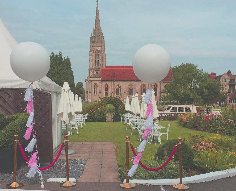Photograph courtesy of Celebrate Balloons