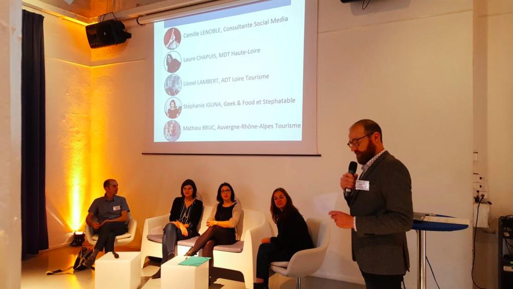 Interventions publiques et Séminaires - Entretiens du E-Tourisme (Pau, 2017), Rencontres Partenariales d'Auvergne-Rhône-Alpes Tourisme (Lyon, 2017), Forum de l'Entrepreuneuriat (Lyon, 2017)...