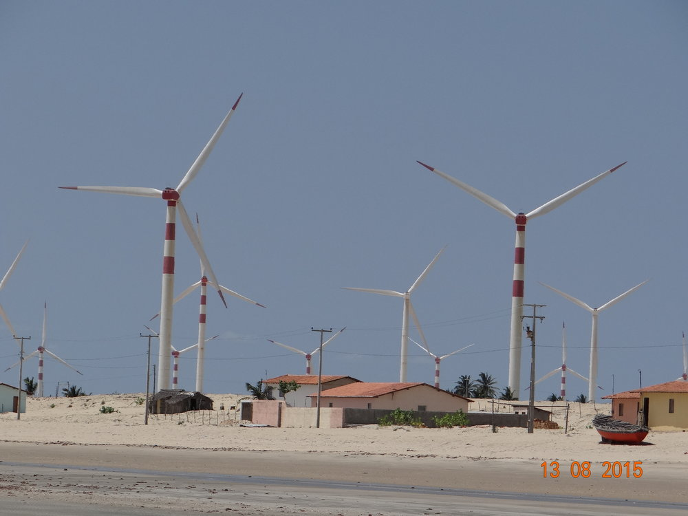 Wind park in Ceará. Credits: Adryane Gorayeb