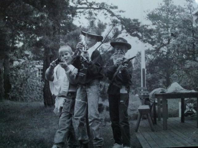Regissørene anno 1985. August & Even nr. 1 og 2 fra høyre