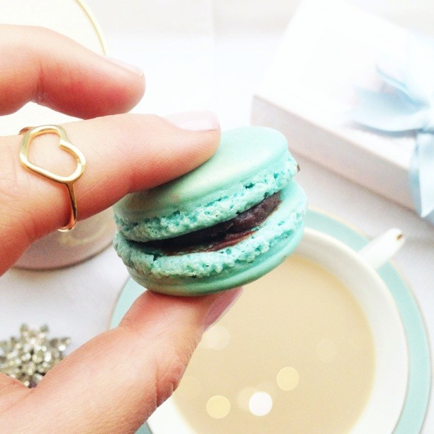 Copy of Tea and Macarons