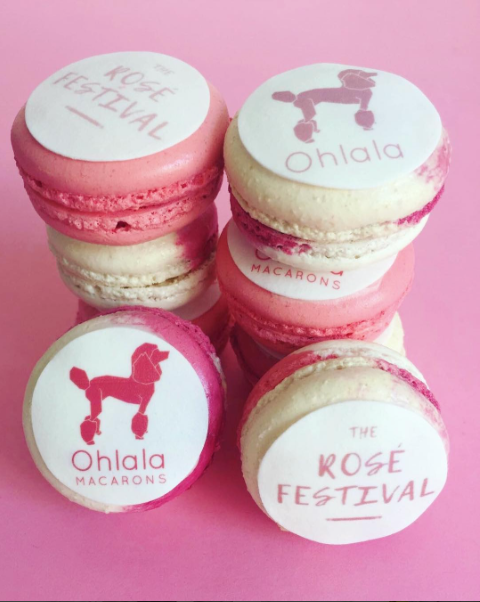 Ohlala Macarons at Rose Festival