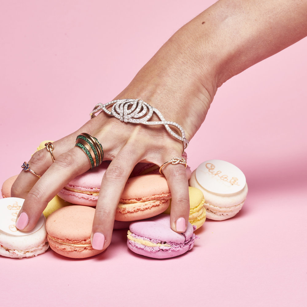 Ohlala Macarons and Diamonds