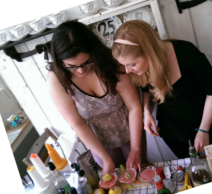 Ohlala mixology and macarons class