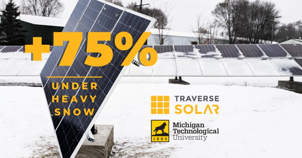 Michigan Technological University & Traverse Solar - Research Partnership