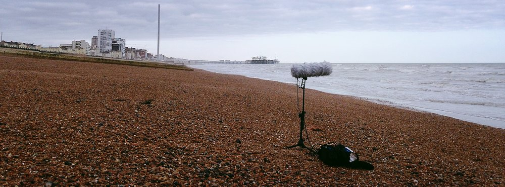Blimp set up on beach .jpg
