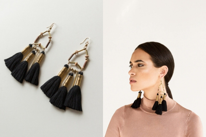 Shop the tassels earrings