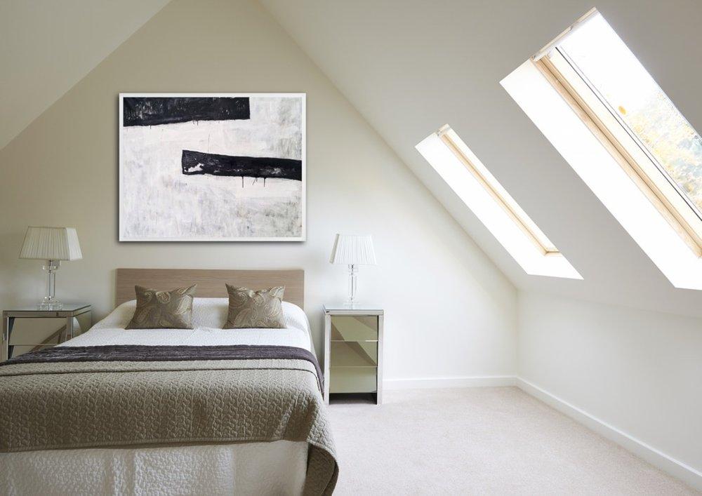Room view 'Enigma' 130x160 cm