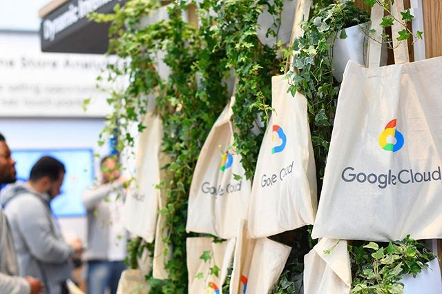 If you're heading to the RBTE exhibition at @olympialondon today or tomorrow, don't forget to pop by our Google stand. Check out the demos and collect your free SWAG bag! #SWAG #RBTE2018 #eventprofs #GoogleCloud