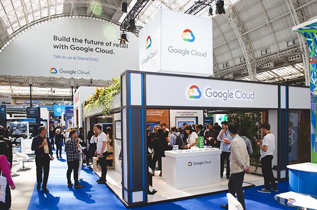 We thoroughly enjoyed our 2 day exhibition with Google Cloud. Lots of doughnut treats, free giveaways and demos were enjoyed by all! #GoogleCloud #RBTE2018