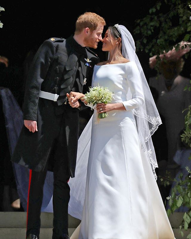Congratulations to the Duke and Duchess of Sussex! What a beautiful day yesterday was, and what a beautiful couple 😍💍 #royalwedding #harryandmeghan #weddinggoals