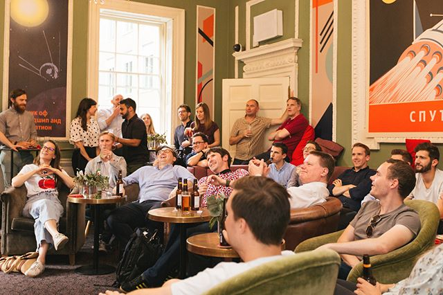 A great atmosphere in our Russian themed room at @hostbarnabas last night as we watched England get their first win! #worldcup2018 #eventprofs #events #England